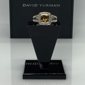 David Yurman Petite Albion ring with Citrine 5.5